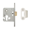 A-spec Architectural Mortice Nightlatch - 68mm Case - 48mm Backset - Radius - Satin Stainless