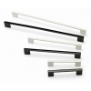 Touchpoint 9mm Slim D-bar Cabinet Handle - 192mm Centres - Black