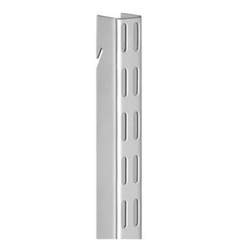Elfa Hanging Wall Bar - 1500mm - Platinum