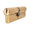 Mila Anti-manipulation Cylinder - Double - 45 + 55mm - Brass