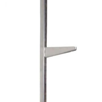 Elfa Bracket For Solid Shelving - 220mm - Silver