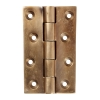 Louis Fraser Door Hinge - 100 X 60mm - Oil Rubbed Bronze