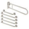 Nymas Rail Only Close Coupled Doc M Pack - Satin Stainless Steel