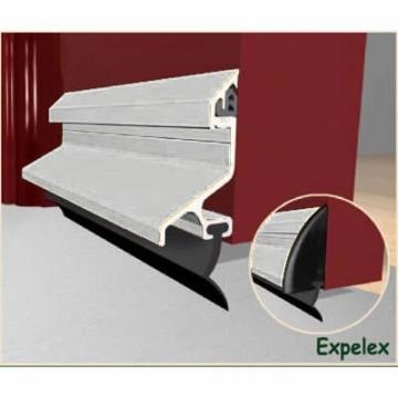 Exitex Standard Rain Deflector And Drip Bar - 914mm - Mill Aluminium