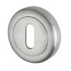 Morello Escutcheon - Keyhole - Satin Chrome