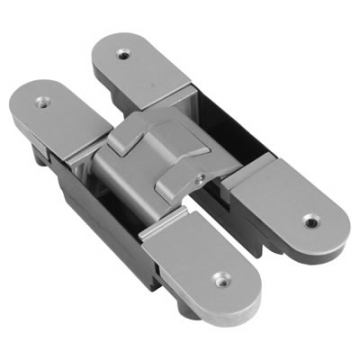 Tago Fully Adjustable Concealed Hinge - 160 X 73.5mm - Silver