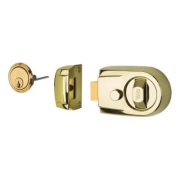 Yale® Y3 Nightlatch - 60mm Backset - Brass