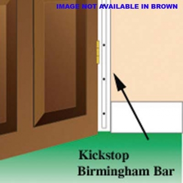Kickstop Birmingham Bar - 1980 X 16mm - Brown