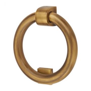 M Marcus Ring Door Knocker - 107 X 77mm - Antique Brass
