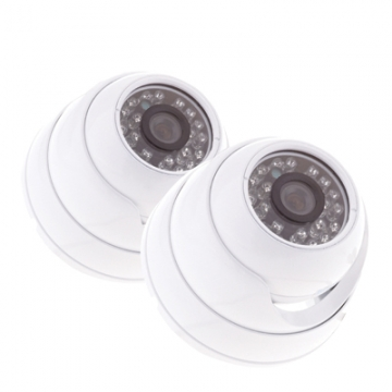 Yale® Hd Cctv Dome Camera - Twin Pack