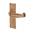 Louis Fraser Tudor Door Handle - Latch Set - Oil Rubbed Bronze