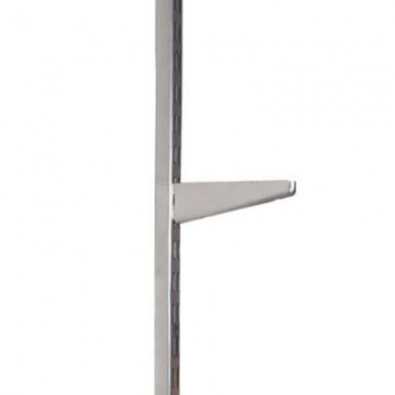 Elfa Bracket For Solid Shelving - 470mm - Silver
