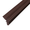 Exitex Staff Seal - 2.5 X 5mm Groove - 2400mm - Brown