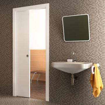 Eclisse Single Pocket Door Kit - 100mm Finished Wall - 838 X 1981mm Door Size