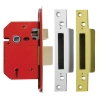 Era® Economy Bs3621:2007 5 Lever Sashlock - 79mm Case - 56mm Backset - Satin Chrome