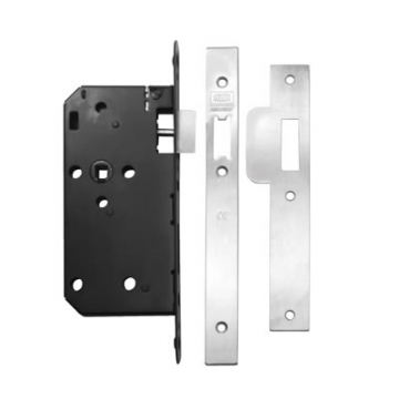 Union® Jl2c23s Equality Act Latch Case - 83mm Case - 55mm Backset - Satin Stainless Steel