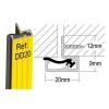 Stormguard Double Door Seal Dd20 - 2100mm - White