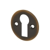 Jedo Escutcheon - Keyhole - Antique Brass