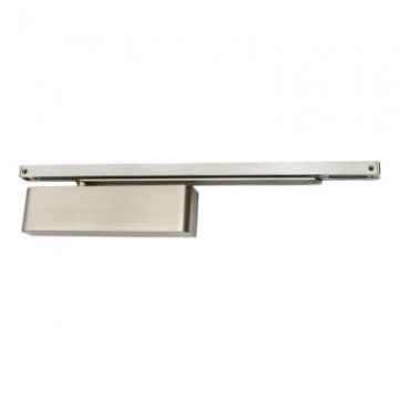 Rutland® Ts9205 Slide Arm Door Closer - Satin Nickel