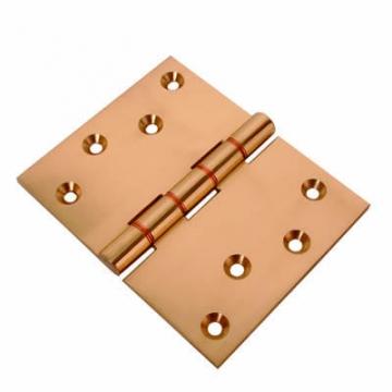 Jedo Quality Projection Hinge - 102 X 125 X 4mm - Polished Brass