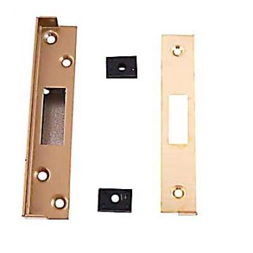 Union® 13mm Rebate Kit To Suit 3g141e Heavy Pattern Deadlock - Polished Brass