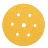 Mirka Gold Disc 7 Hole - 150mm - Grit 100