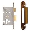 A-spec Architectural Euro Sashlock - 65mm Case - 44mm Backset - Radius - Florentine Bronze