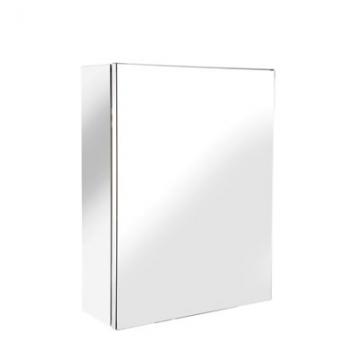 Croydex Avon Stainless Steel Cabinet - Single Door - 400 X 300 X 120mm
