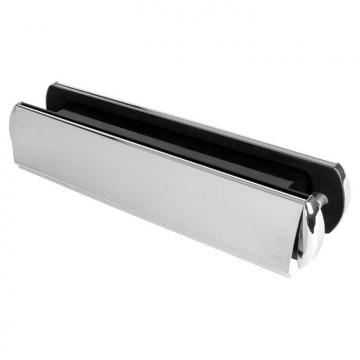 Yale® Platinum Letter Plate 321 X 65mm - Polished Chrome
