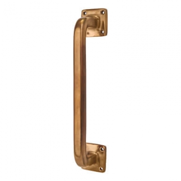 Louis Fraser Square Pull Handle - 228mm Centres - Light Bronze