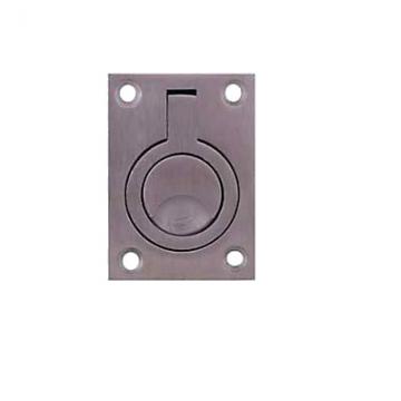 Altro Flush Ring - 62 X 44mm - Satin Stainless Steel