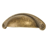 Touchpoint Traditional Chest Drawer Pull - 64mm Centres - Antique Brass