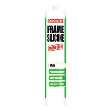 Evo-stik Trade Frame Silicone - 290ml - White