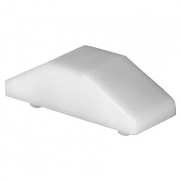 Era® Cockspur Wedge - 12.5mm - White