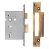 A-spec Architectural 5 Lever Sashlock - 78mm Case - 57mm Backset - Florentine Bronze