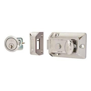 Era® Traditional Nightlatch - 60mm Backset - Polished Chrome