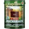 Cuprinol 5 Year Ducksback Autumn Brown 5l