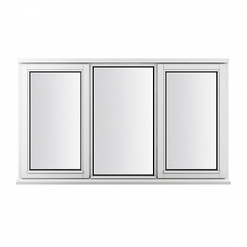Stormsure Softwood Plain Casement 24mm Fully Glazed Window 1765 X 1195mm Lew312cc