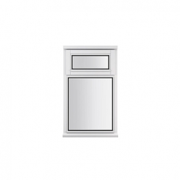 Stormsure Softwood Plain Casement 24mm Fully Glazed Window 625 X 1045mm Lew110v
