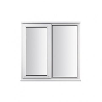 Stormsure Softwood Plain Casement 24mm Fully Glazed Window 1195 X 1045mm Lew210cas