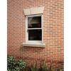 Softwood Sliding Sash 24mm Fully Glazed Window 855 X 1045mm Letvs0810