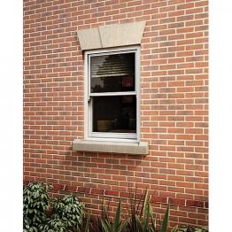 Softwood Sliding Sash 24mm Fully Glazed Window 630 X 1045mm Letvs0610