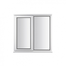 Stormsure Softwood Plain Casement 24mm Fully Glazed Window 1195 X 1195mm Lew212cas
