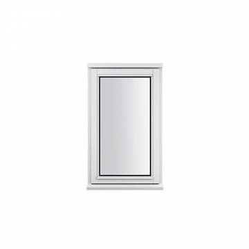 Stormsure Softwood Plain Casement 24mm Fully Glazed Window 625 X 1195mm Lew112copp
