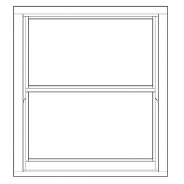 Softwood Sliding Sash 24mm Fully Glazed Window 1080mm X 1195mm Letvs1012
