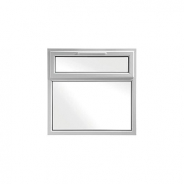 Upvc Window Shield6 White 1190mm X 1190mm