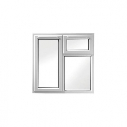 Upvc Window 3pcase Shld6 White 1190mm X 1190mm