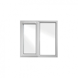Upvc Window Lh Shield6 White 1190mm X 1190mm