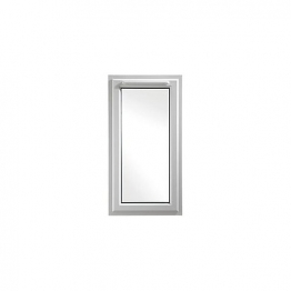 Upvc Window Rh Shield6 White 610mm X 1190mm