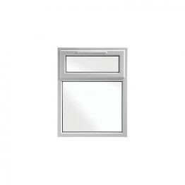 Upvc Window 2p Shield6 White 1190mm X 1040mm